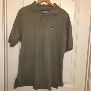 Vintage Big Dogs Polo Shirt. XL Olive green